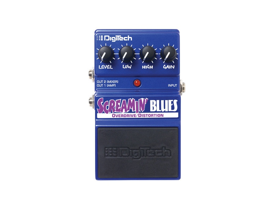 DigiTech DSB Screamin' Blues Overdrive Analog Distortion Pedal