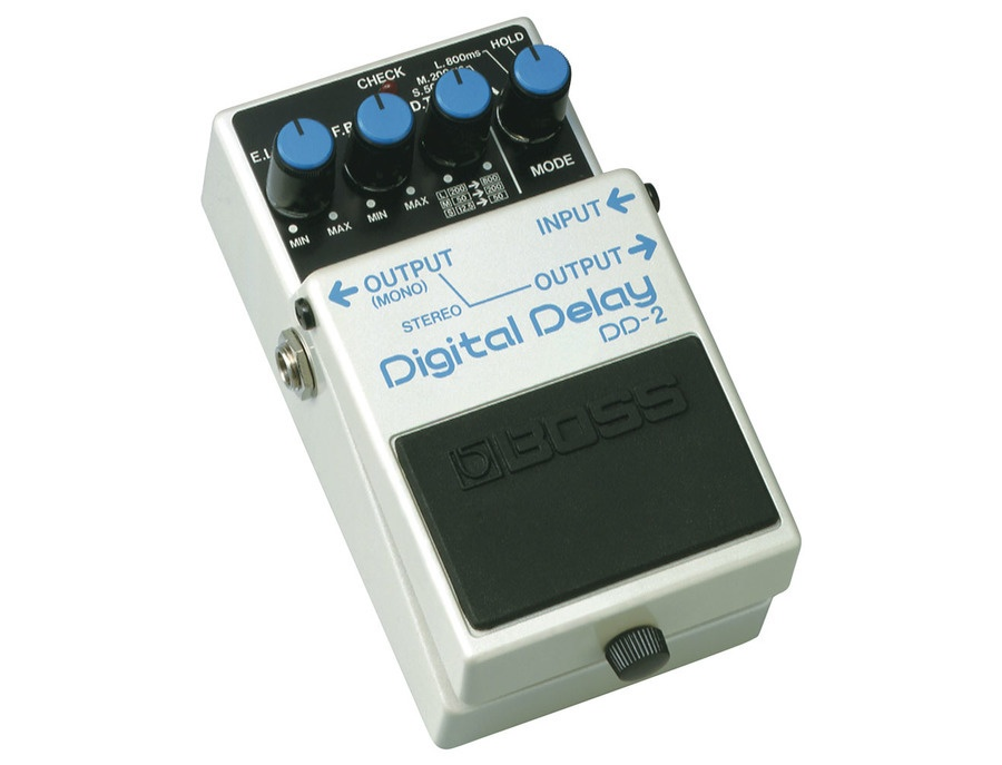 Boss dd 2 digital delay pedal xl