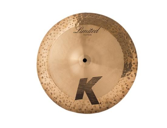 "Zildjian 14"" K Custom Limited Edition Hybrid Reversible Hi Hat Cymbals"