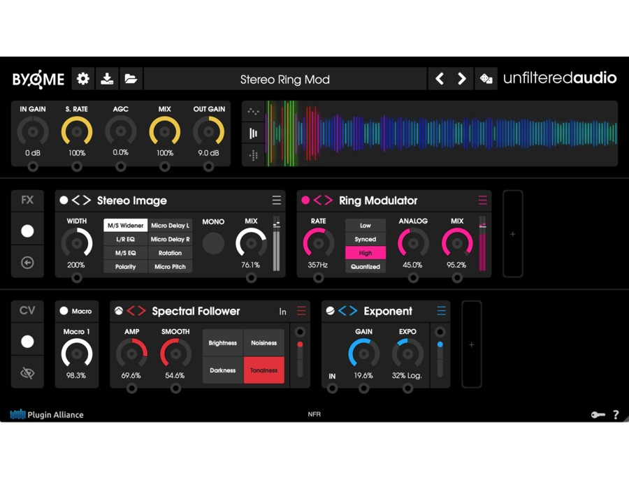 Unfiltered audio byome xl