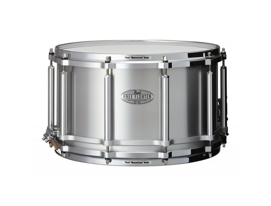 14x8 free floating snare drum aluminum xl