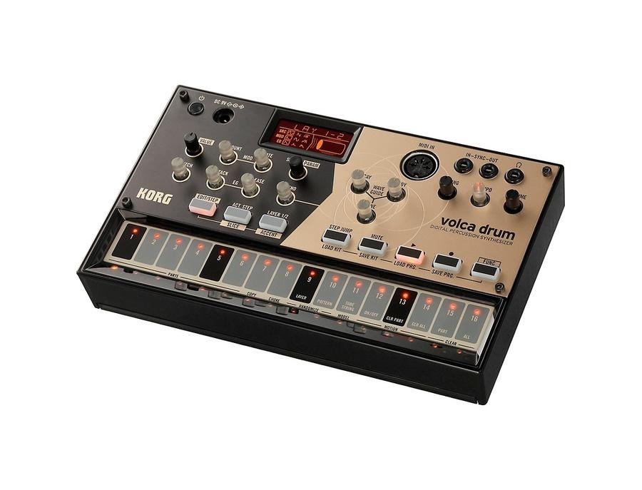 Korg volca drum digital percussion synthesizer xl