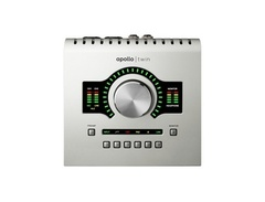 Universal audio apollo twin high resolution interface with realtime uad processing s