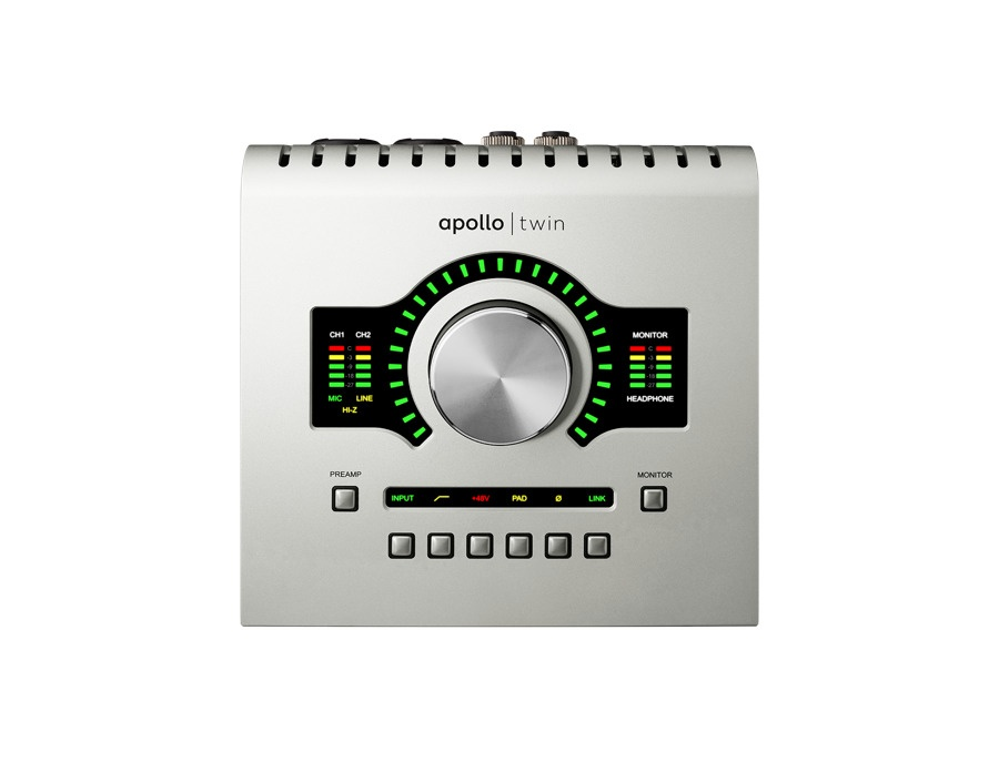 Universal audio apollo twin high resolution interface with realtime uad processing xl