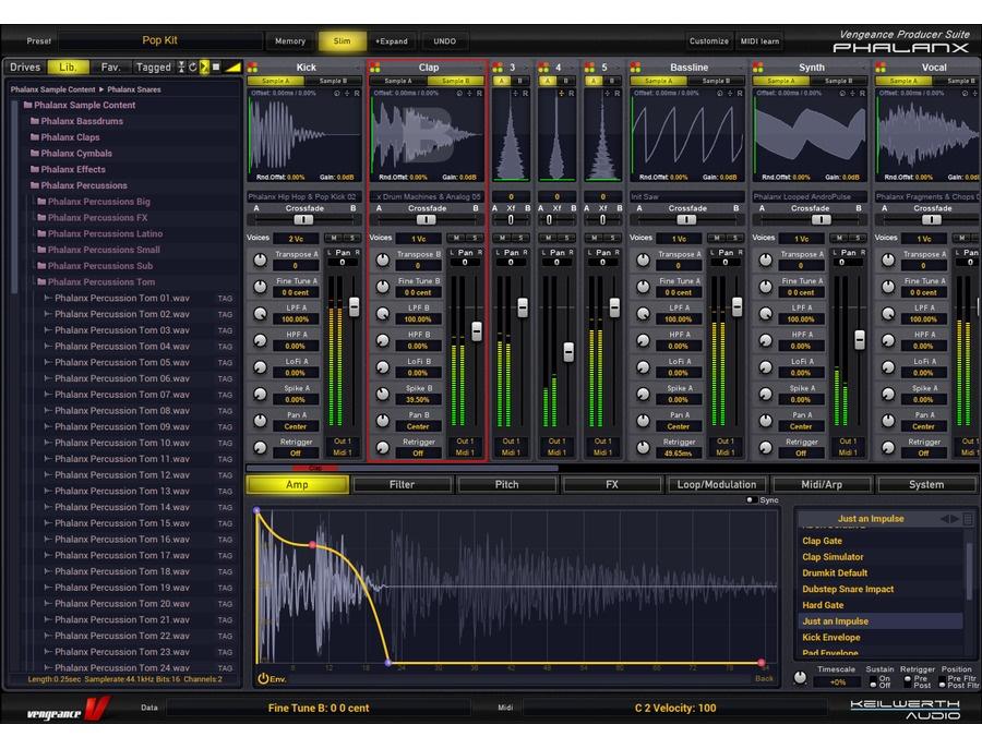 Vengeance producer suite phalanx xl