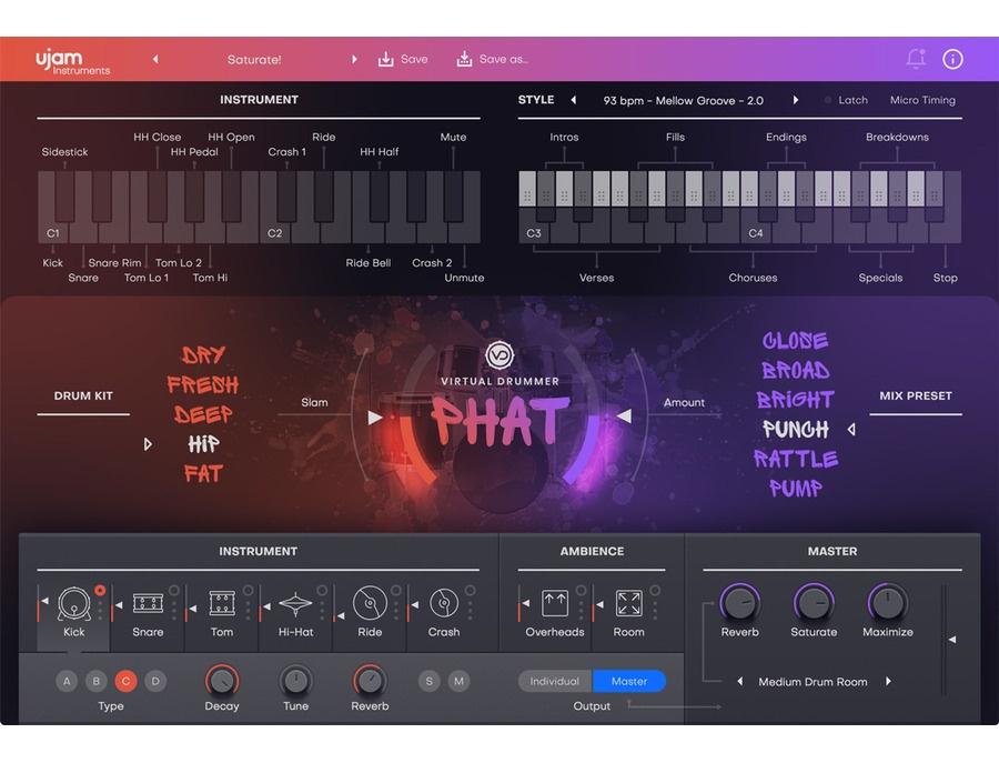 UJAM Virtual Dummer PHAT 2 Reviews & Prices   Equipboard®