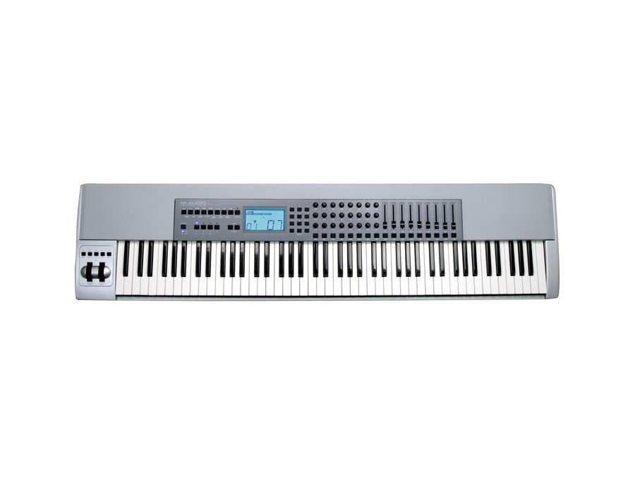 M audio keystation pro 88 controller keyboard xl