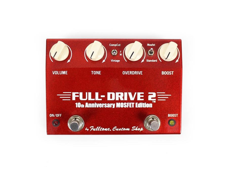 Fulltone full drive 2 10th anniversary mosfet edition xl