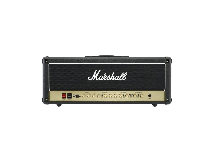 Marshall dsl100h 100w all tube guitar amp head black xl