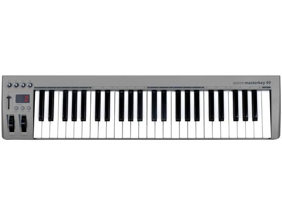 Acorn Instruments Masterkey 49 USB MIDI Controller Keyboard