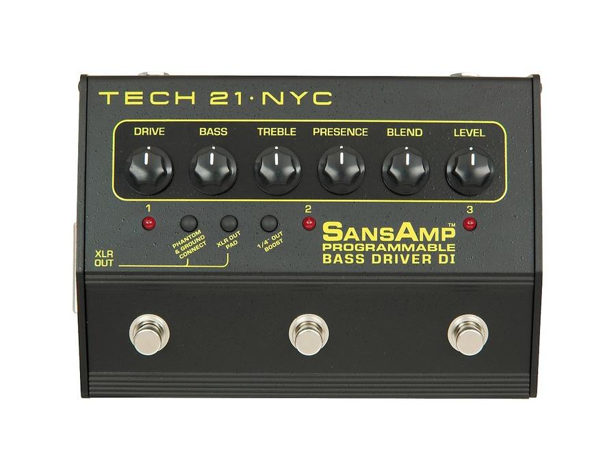 Tech 21 SansAmp 3-Channel Programmable Bass Driver DI