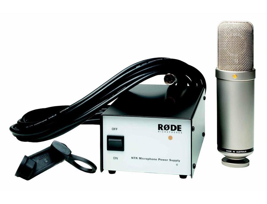 Rode NTK Tube Condenser Microphone: Multipurpose