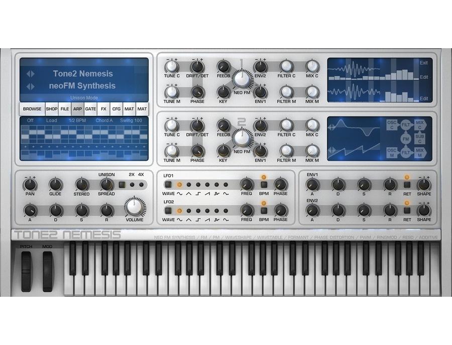 Tone2 Nemesis Software Synthesizer