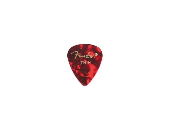 Fender pick thin