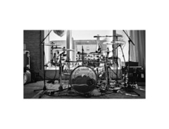 Yamaha custom acrylic drum kit s
