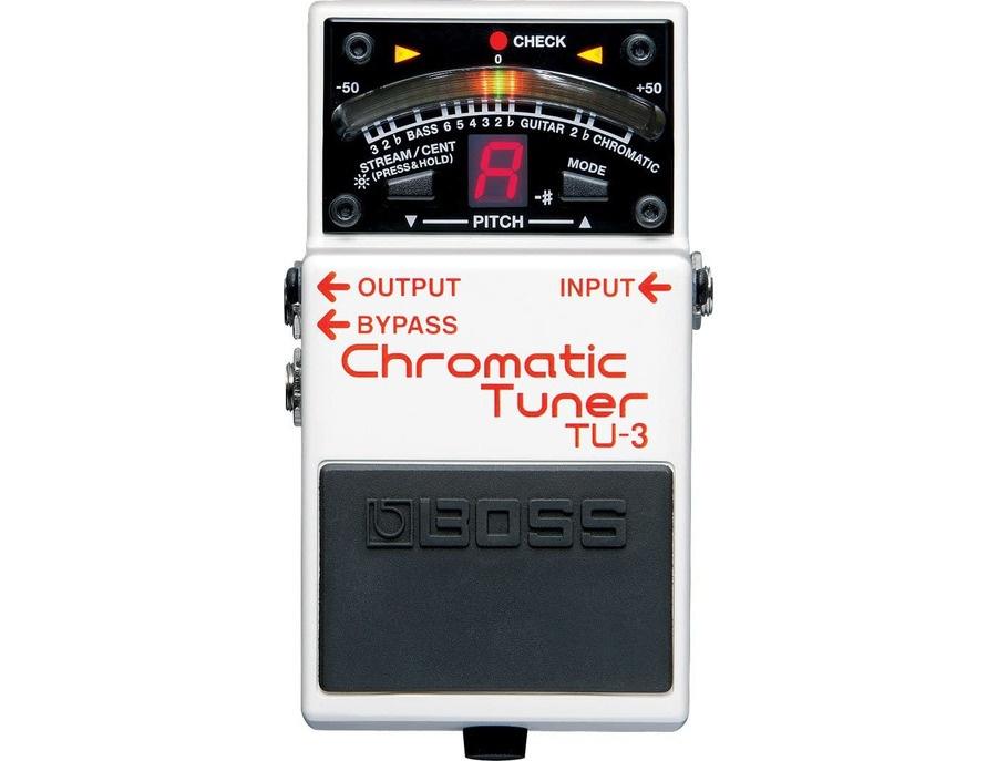 Boss tu 3 chromatic tuner xl
