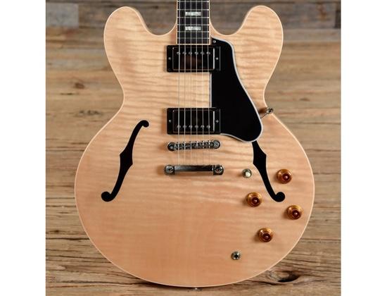 Gibson Memphis ES-335 Figured Natural w/block inlays