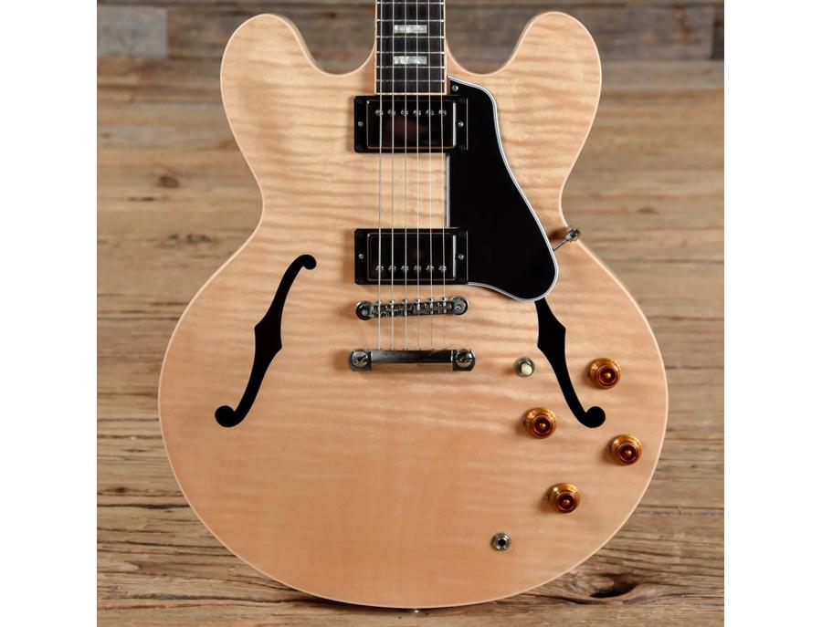 Gibson memphis es 335 figured natural w block inlays xl