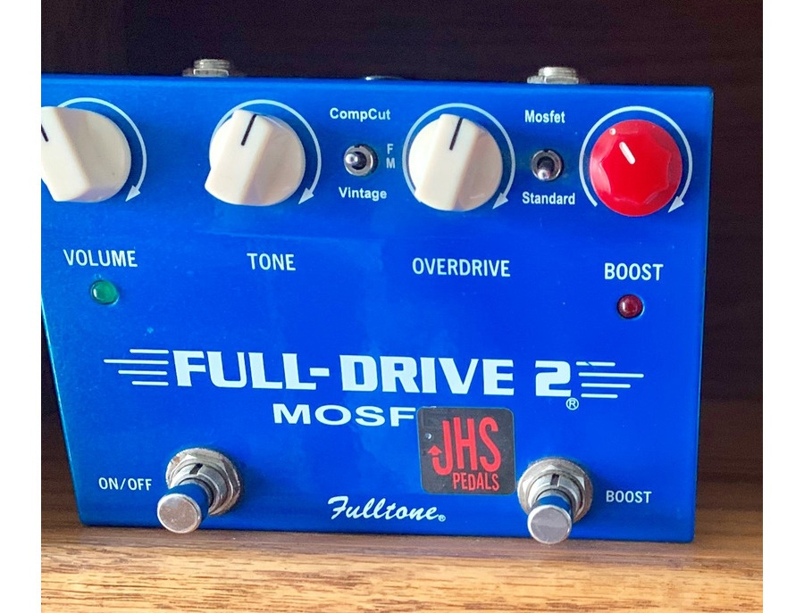 fulltone full drive 2 mosfet jhs mod reviews prices equipboard. Black Bedroom Furniture Sets. Home Design Ideas