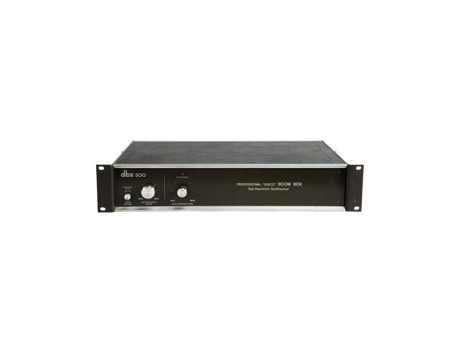 Dbx 500 professional disco boom box sub harmonic synthesizer xl