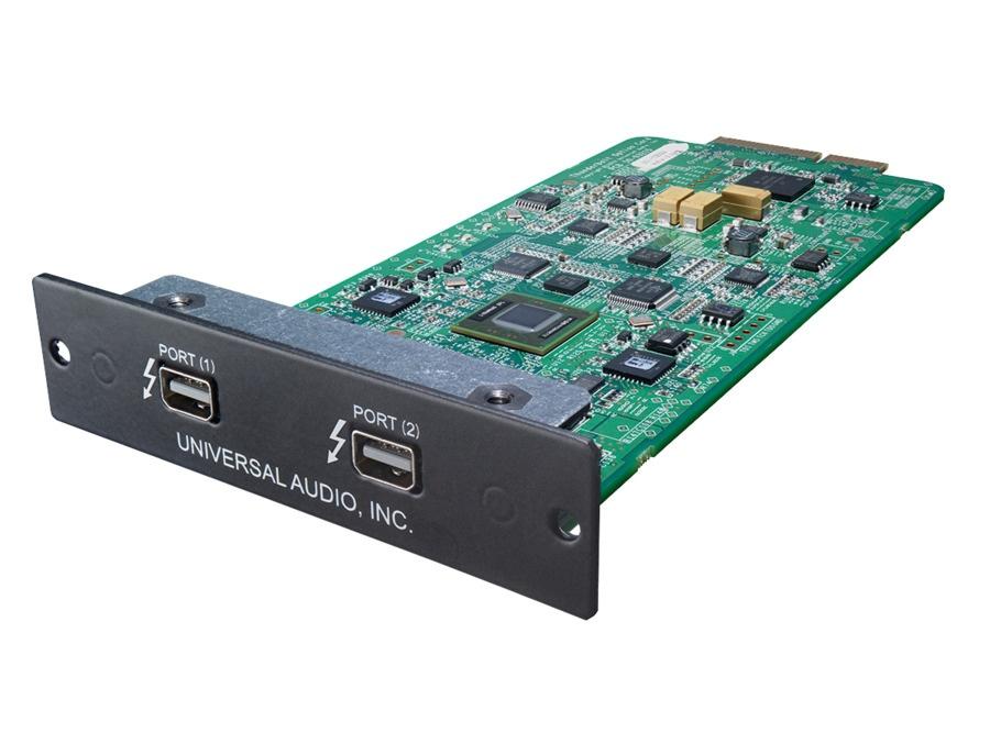 Universal Audio Thunderbolt option card