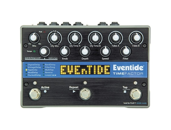 Eventide TimeFactor Twin Delay Guitar Effects Pedal