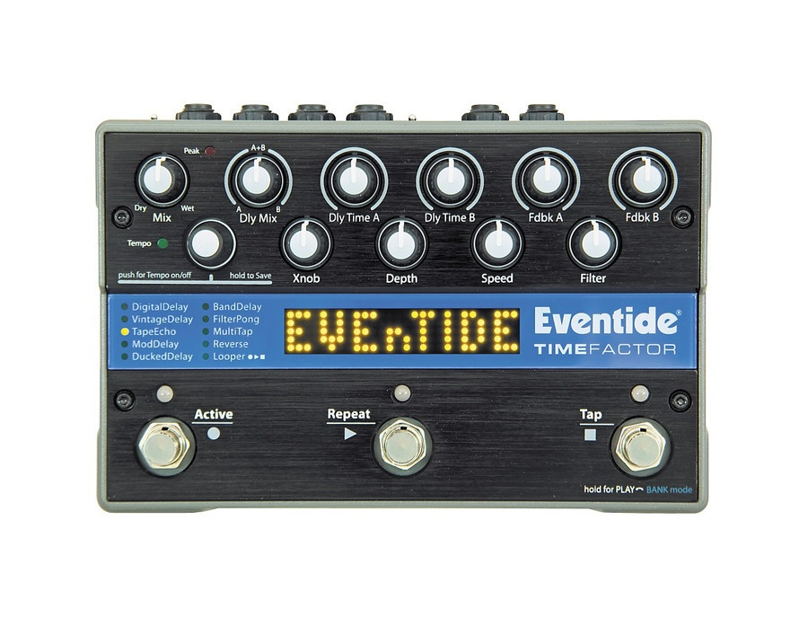 Eventide timefactor twin delay guitar effects pedal xl