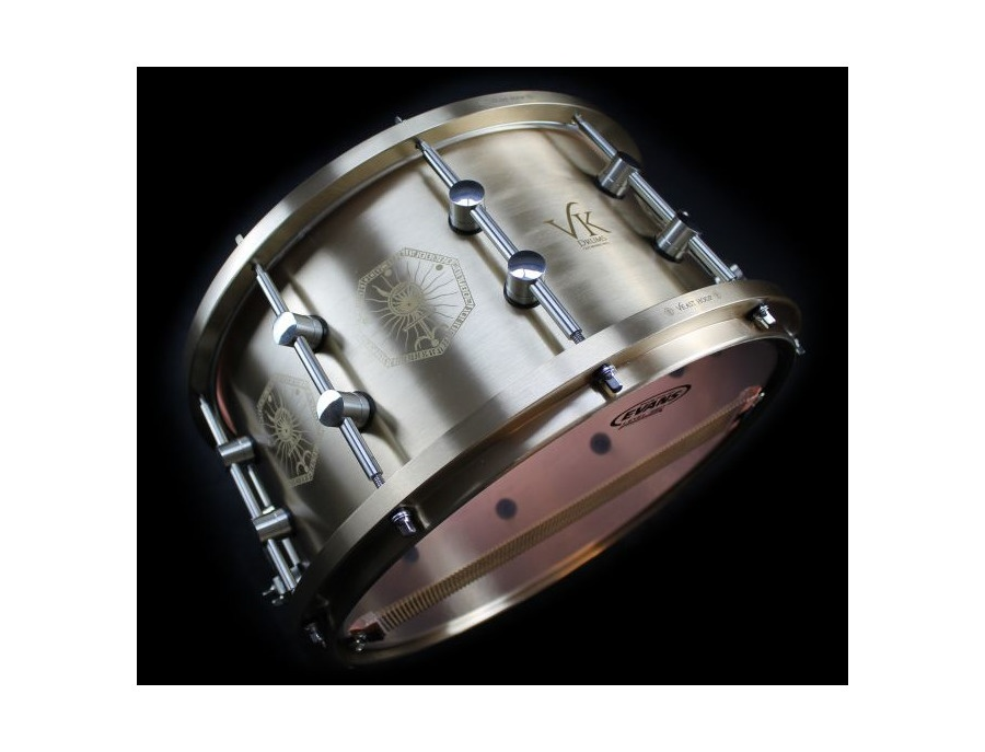 Vk danny carey 14 x8 solid bronze snare xl
