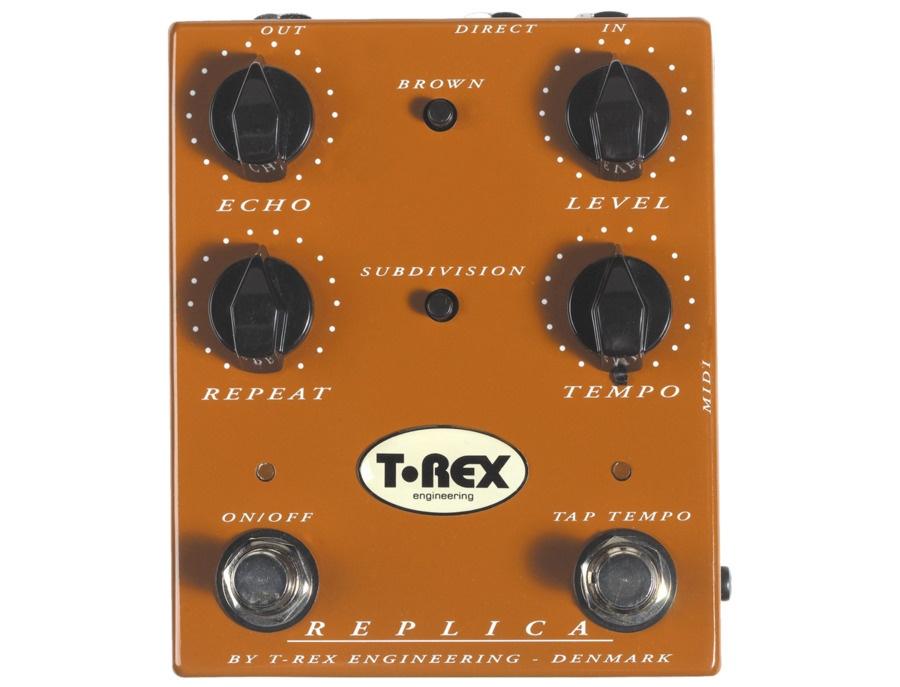 T rex engineering replica delay echo pedal xl