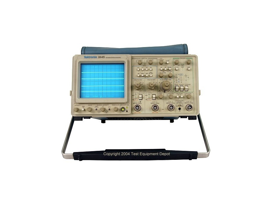 Tektronix 2445 oscilloscope xl
