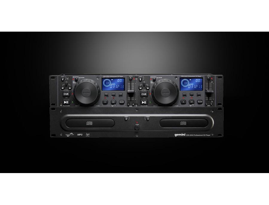 Gemini CDX-2250 Dual CD Media Player