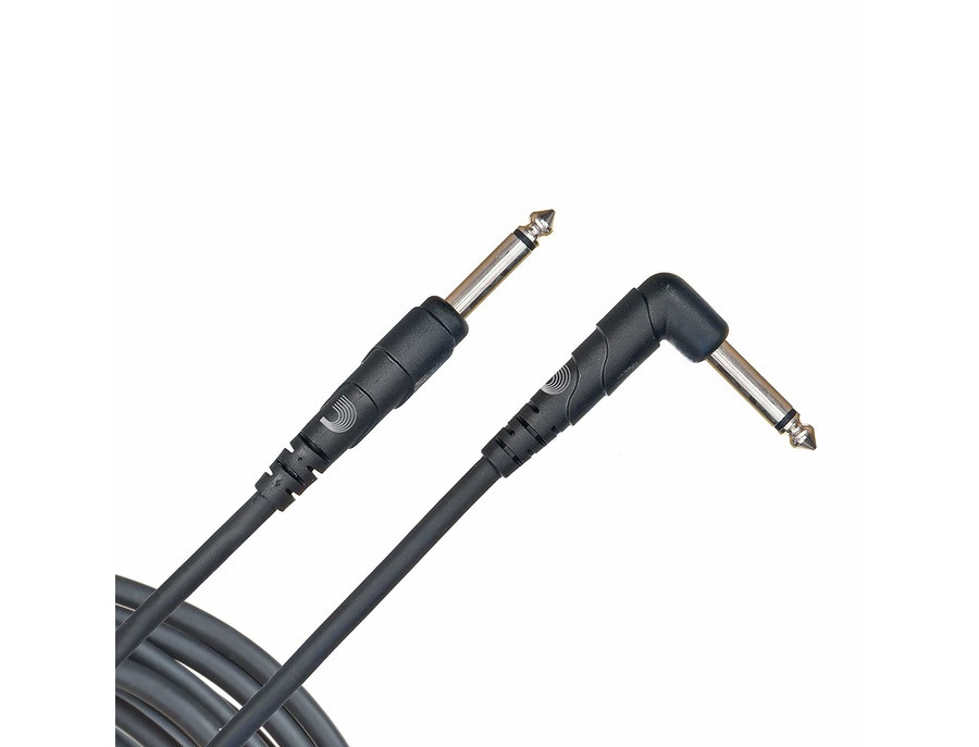 D addario classic series instrument cable right angle plug xl