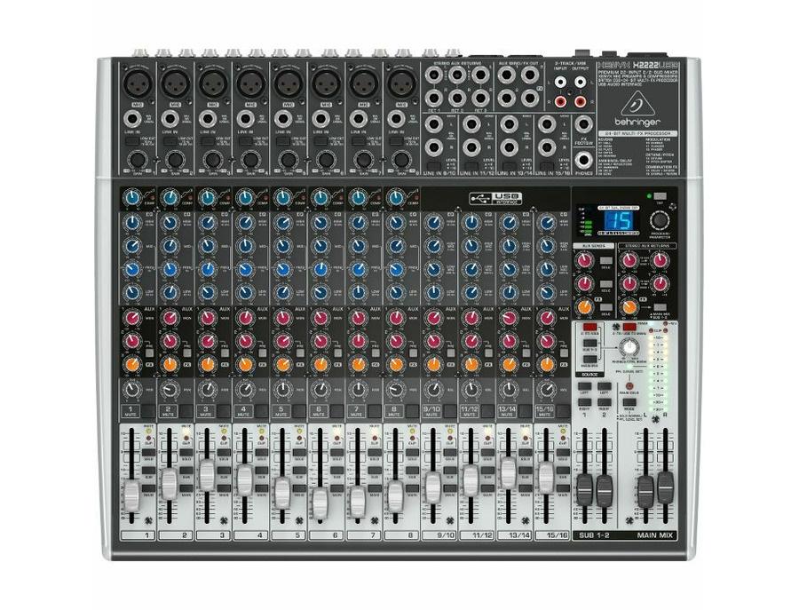 Behringer XENYX X2222 USB Mixer