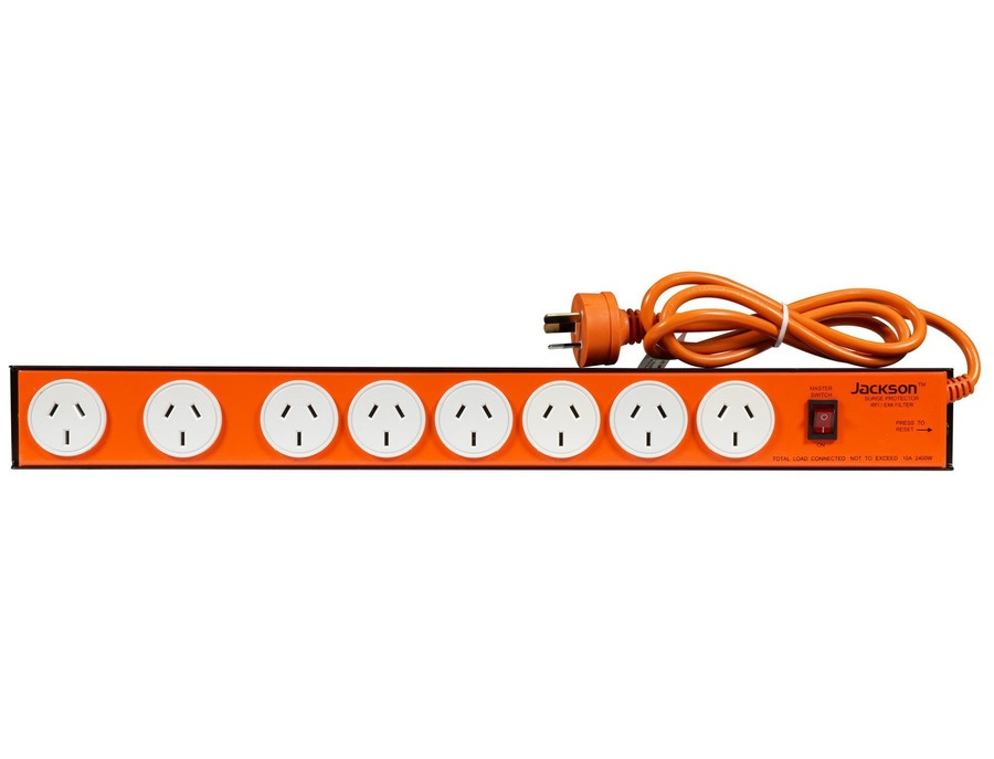 Jackson 8 outlet powerboard powerstrip xl