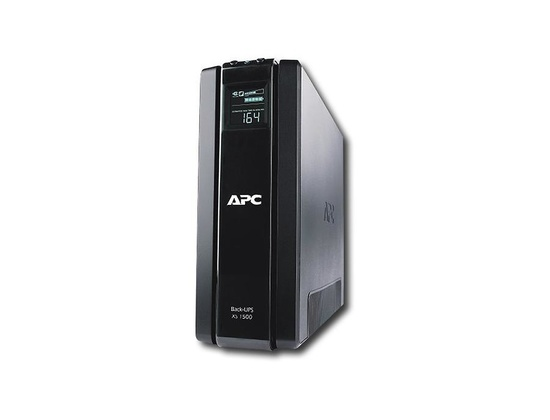 APC - Back-UPS XS 1500 VA Tower UPS - Black