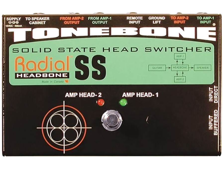 Radial Headbone SS Solid State Amp Switcher