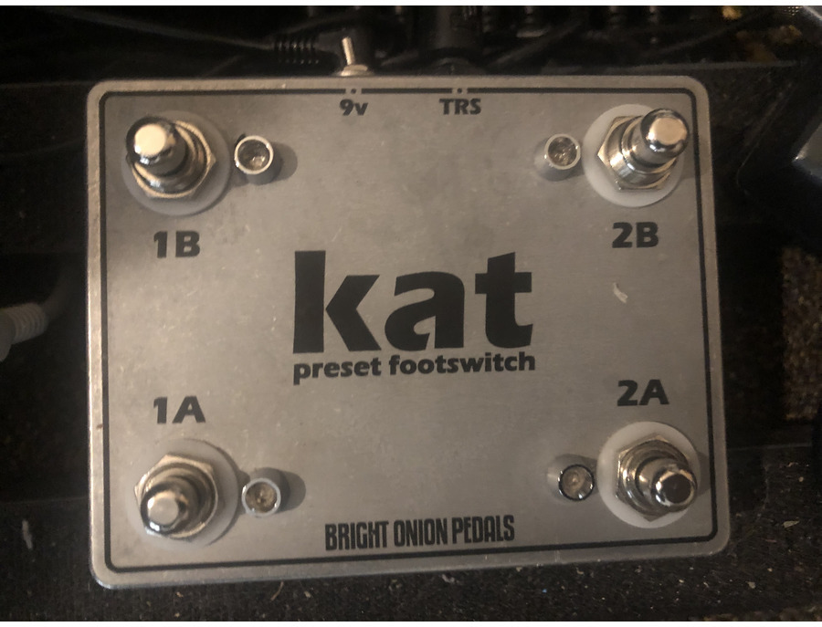 Bright onion pedals kat preset footswitch xl