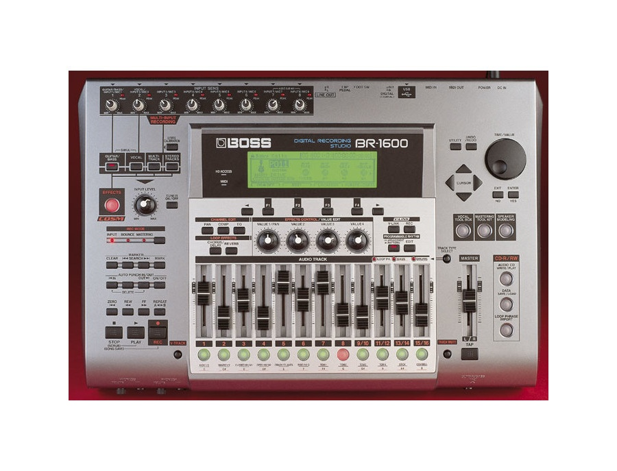 Boss br 1600 digital recorder xl