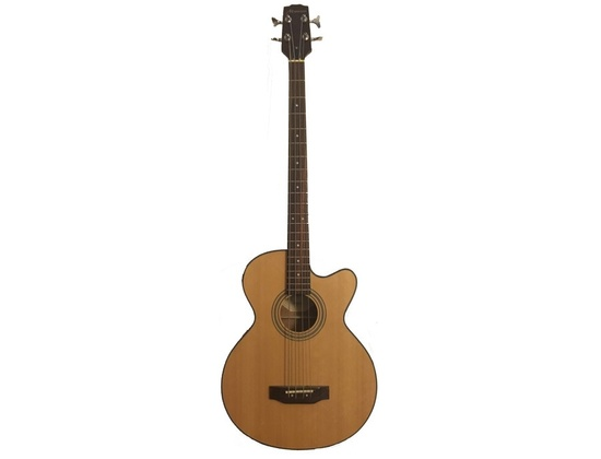 Mansoon DLB445DA4 Acoustic Electric Bass Guitar