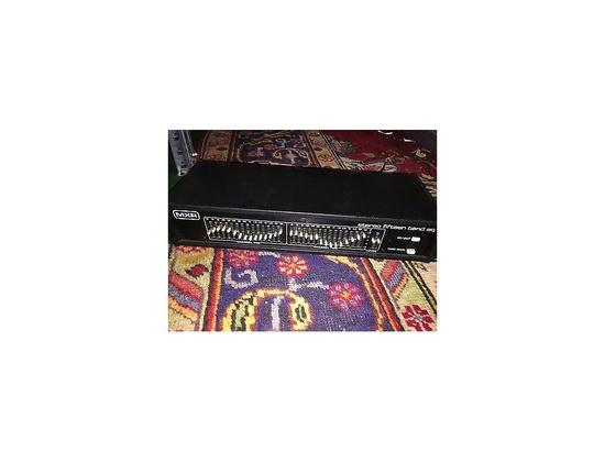 MXR 15 band stereo EQ rack