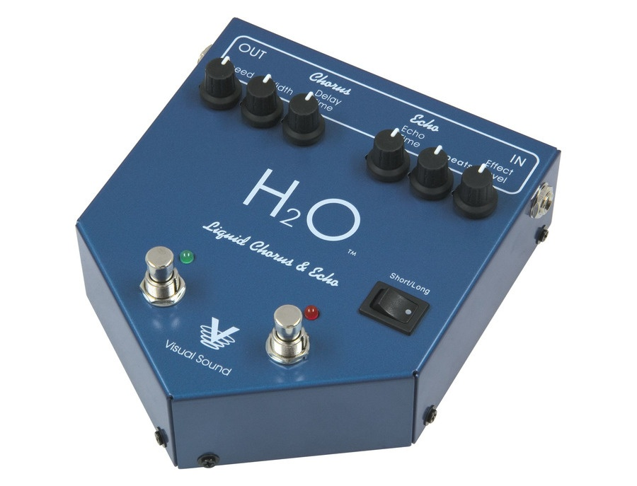 Visual Sound H2O Chorus & Echo Pedal