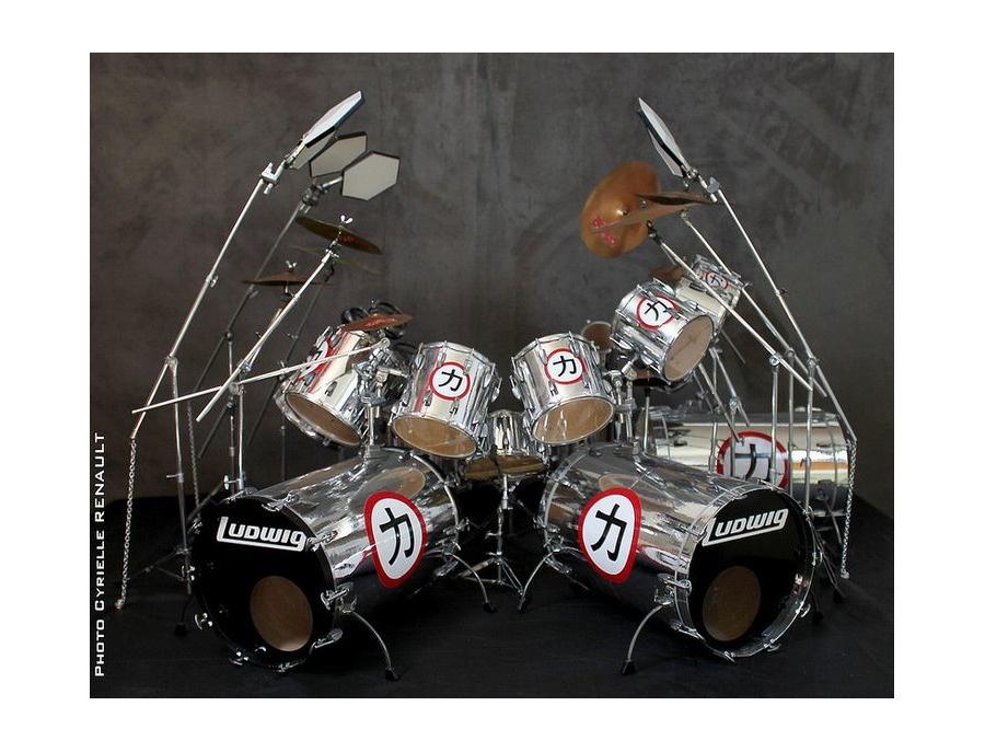 Ludwig eric carr signature drum kit xl