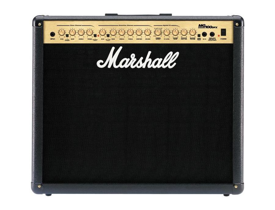 Marshall mg100dfx combo electric guitar amplifier xl