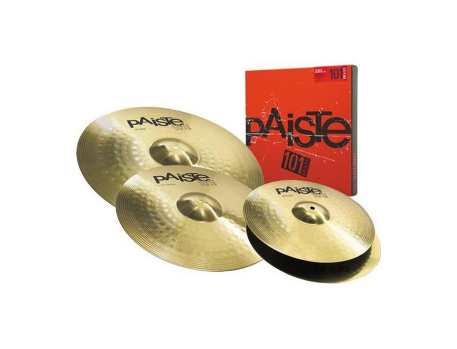 Paiste 101 Crash/Ride & Hi-hat Set