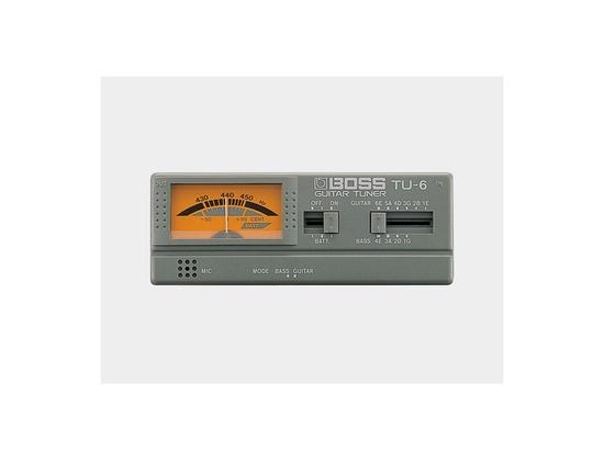 Boss TU-6 Guitar/Bass Auto Tuner