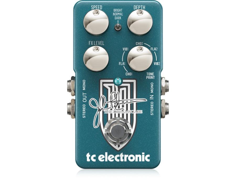 Tc electronic the dreamscape john petrucci signature modulation pedal xl