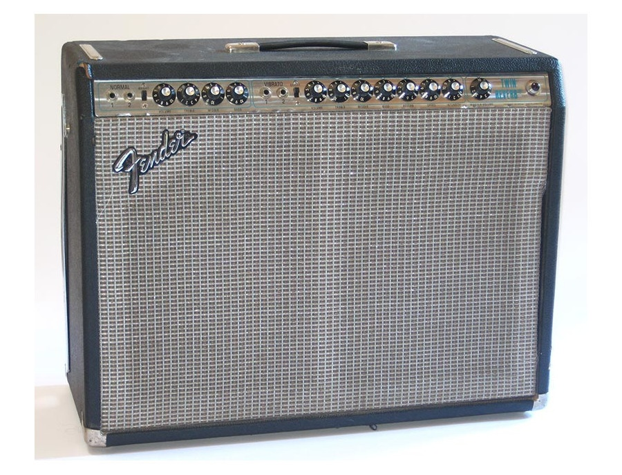 1970s Fender Silverface Twin Reverb
