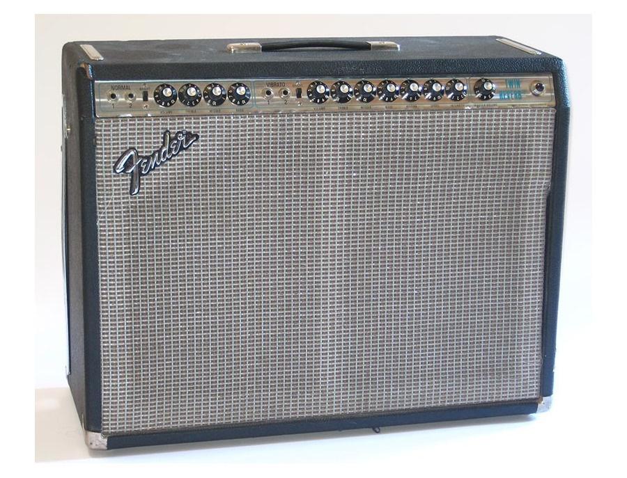 1970s Fender Silverface Twin Reverb