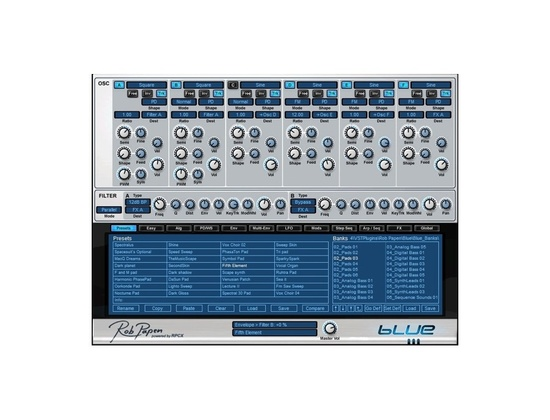 Rob Papen BLUE Software Synthesizer