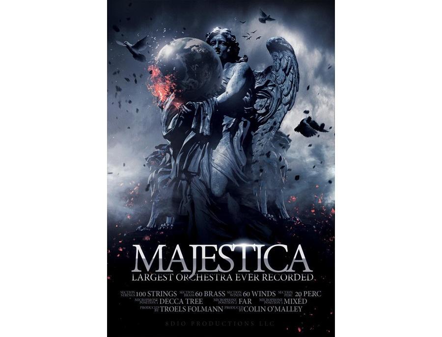 8dio majestica 240 piece epic orchestra xl